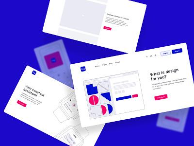 EasyFrame 2.0 | Detail easy prototyp future kit wireframe prototype creative figma vector design