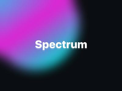 Spectrum Company figma vector branding future gradient design