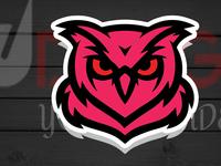 Owl Mascot Logo For Esport Team