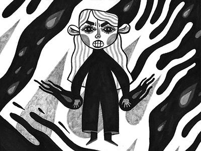 FIRESTARTER stephen king firestarter fire kid drawing illustration