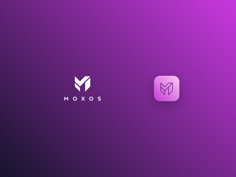Moxos Logo branding design icon logo