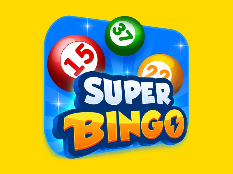 Super Bingo Icon balls super bingo game icon