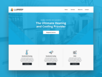 UI Design for an HVAC Company