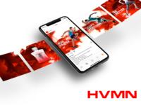HVMN Keytone Instagram Slider