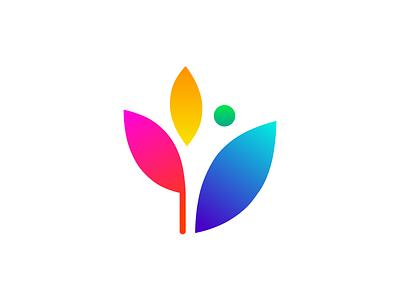 athenaProud graphic brand color rainbow gradient logo gay lgbt