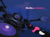 Hello,Dribble!