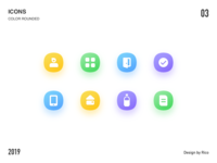 Icons-Color Rounded