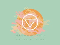 Grown By Vets Identity Concept