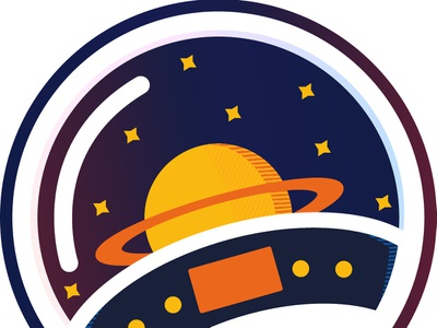 Cabina de mando logo icon design illustration