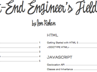 A Front-End Engineer's Field Guide