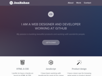 Personal site redesign developer code blog portfolio