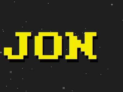 8-bit Kill Screen 8bit stars html5 canvas