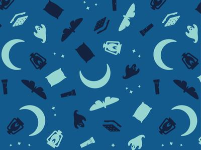 Spooky Summer Night Pattern