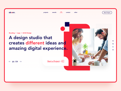 Design Studio home web light layout digital creative amazing creates ideas studio design
