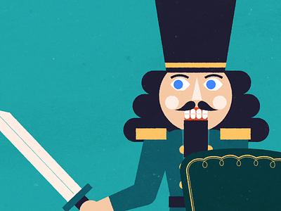 Holiday Shopper: Black Friday Warrior animation illustration character warrior holiday holidays nutcracker