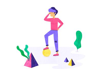 Itsalive - illustration #3 lost chatbot textures itsalive geometric illustration