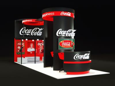 Coca Cola Exhibition Stand