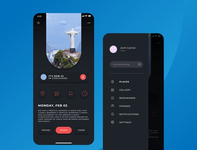 Travel design app