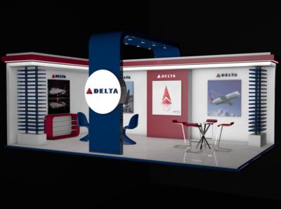 Exhibition Delta Stand