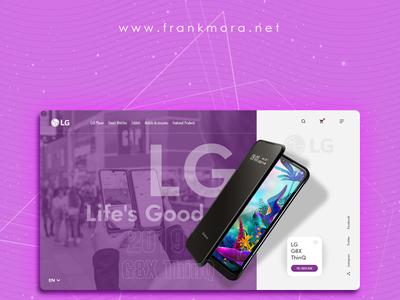 LG Landing page