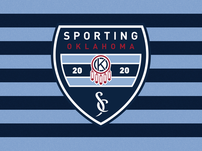 Sporting Oklahoma logo branding oklahoma city sporting oklahoma mls sporting kc sports kansas city soccer