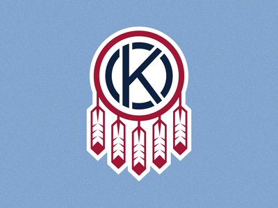 Sporting Oklahoma Secondary Logo oklahoma city oklahoma sporting logo branding mls sporting kc sports kansas city soccer