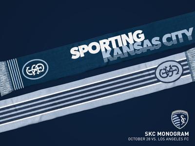 SKC Monogram Scarf