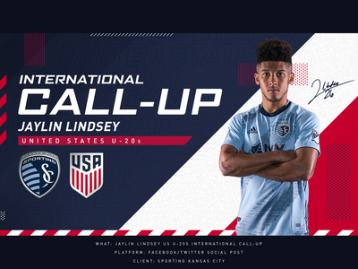 USA Intl Call-up - Sporting KC social sporting kc sports fifa international usmnt usa kansas city soccer