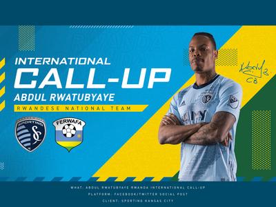 Rwanda Intl Call-up - Sporting KC