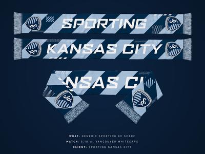 2019 Generic Sporting KC Scarf