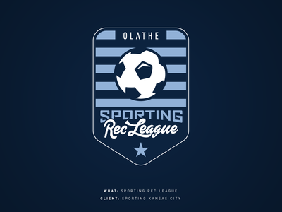 Sporting Rec League sporting kc logo sports kansas city soccer