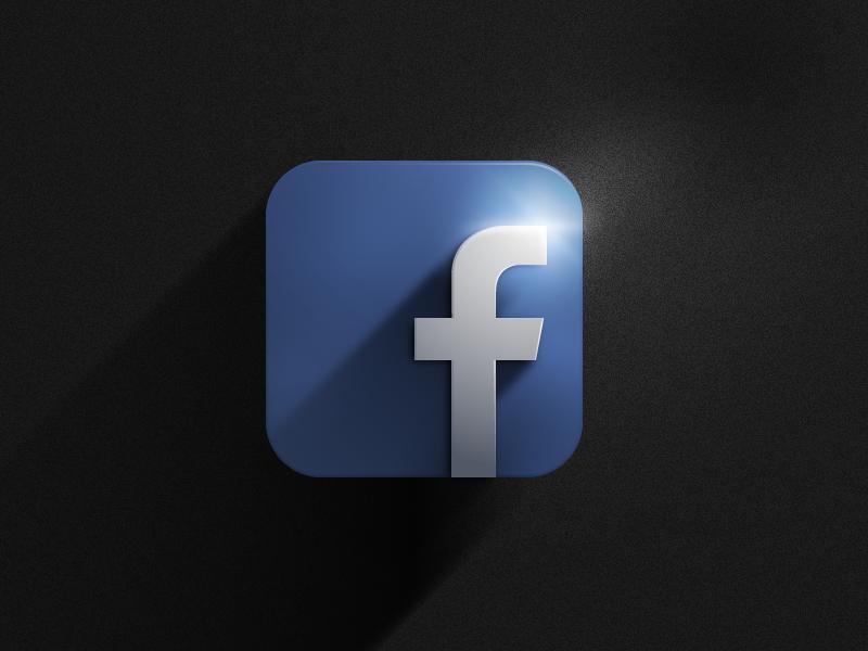 Facebook Icon  icon facebook vector illustrator