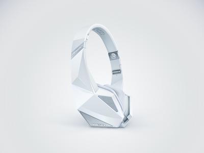 DIESEL VEKTR illustrator vector headphone illustration white