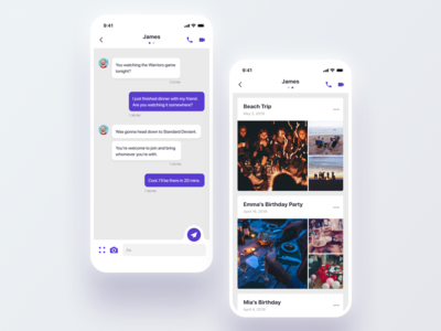 Daily UI Challenge #013 Direct Messaging