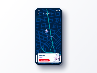 Daily UI Challenge #020 Location Tracker