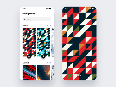 Daily UI Challenge #059 Background Pattern