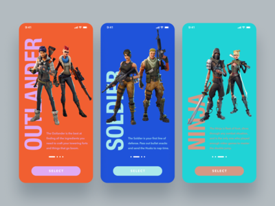 Daily UI Challenge #064 Select User Type