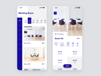 Daily UI Challenge #071 Schedule appointment scheduler floor facility book room meeting room meeting schedule card dailyui ui white design iphone mobile ios app daily ui simple