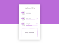 Daily UI 031 - File Upload