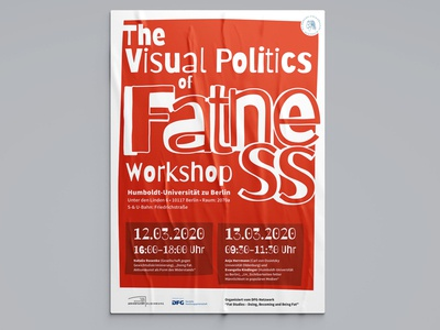 The Visual Politics of Fatness - Poster