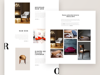 Interior and Furniture Design Studio UI