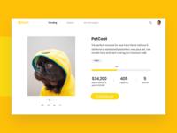 Crowdfunding Web App Concept