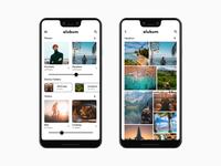 Alubum, an album app concept