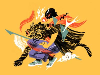 Tiger Demon chinese taiwan taiwanese demon tiger