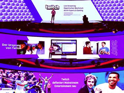 Twitch DMEXCO Keynote 2018 gamer stage dmexco panel presentation keynote