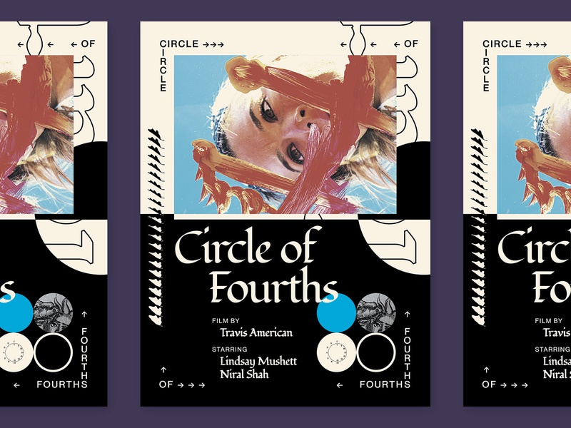 Film Poster - Circle of 4ths poster design movie poster film poster film poster