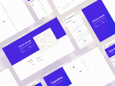 Upgrade Labs - Scheduling web ux ui product design