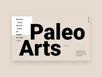 History of Paleolithic Arts: A Lightning Talk @ thoughtbot visual design design