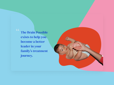 The Brain Possible - Pullquote design product design branding web ux ui visual design