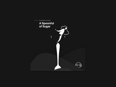 A Spoonful of Sugar design logo visual design vector illustration